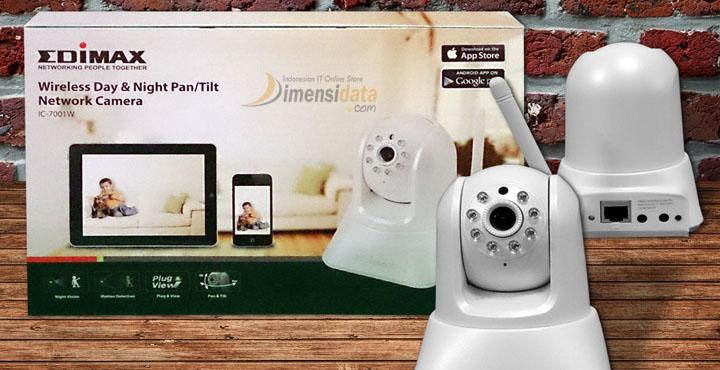 Spesifikasi dan Harga IP Camera EDIMAX IC-7001W Terbaru