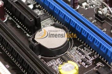 Battery CMOS - Komponen Dalam Motherboard Komputer