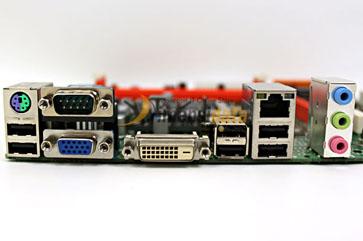 I/O Ports Konektor - Komponen Dalam Motherboard Komputer