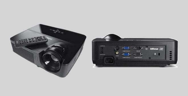 Review Kelebihan Spesifikasi dan Harga Projector InFocus IN112 Terbaru 2017