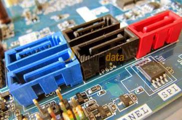 Slot SATA - Komponen Dalam Motherboard Komputer