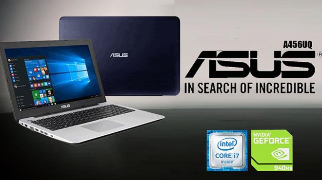 Spesifikasi Notebook Gaming ASUS A456UQ dan Harga Terbaru 2017