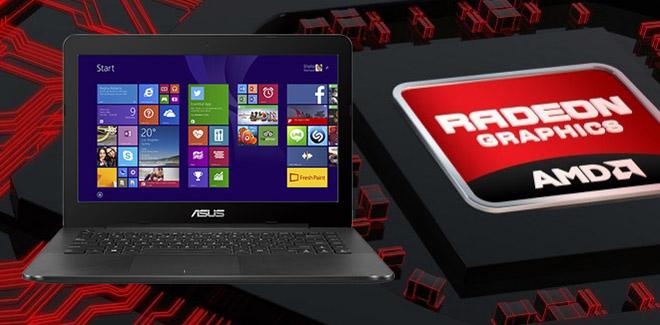 ASUS X454YA-BX801D, Laptop Gaming Murah Dengan AMD A8 Radeon R5
