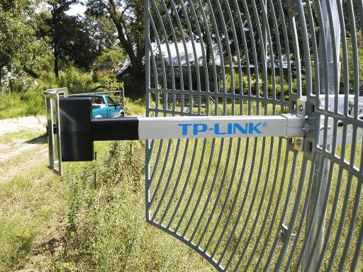 Alat penguat sinyal wifi jarak jauh tp-link