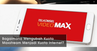 Cara-Mengubah-Kuota-Maxstream-Menjadi-Kuota-Internet
