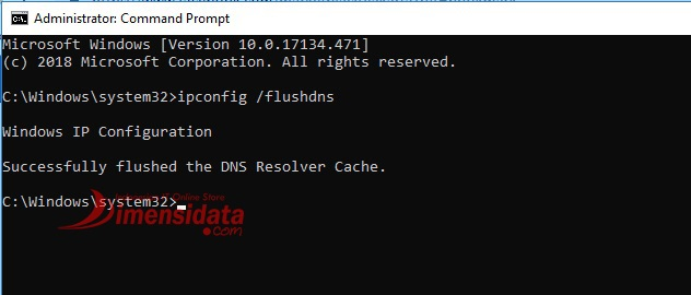 Cara Mudah Flush DNS di Windows 10 CMD