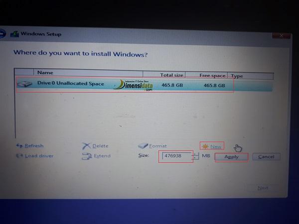 Cara Mudah Install Ulang Windows 10 Lengkap Dengan Gambar 8