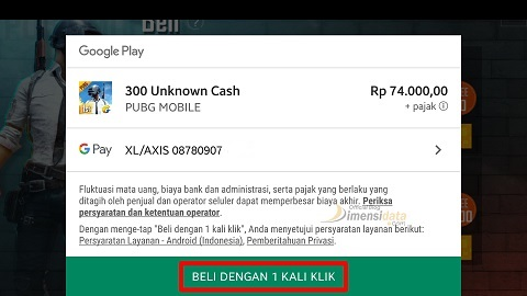 Cara Top Up UC PUBG Via Pulsa