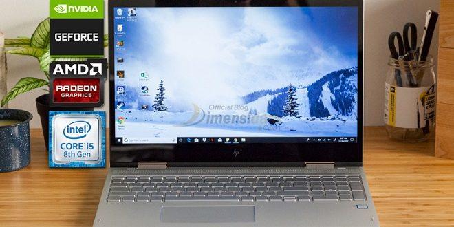 Daftar Laptop Core i5-8250U RAM 4GB Murah