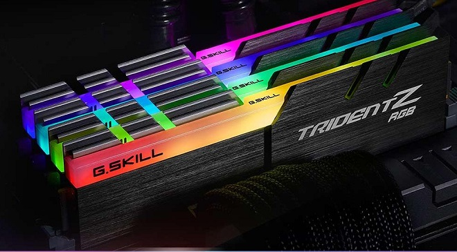 G.SKILL Trident Z RGB Series 16GB DDR4 3200