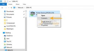 Gambar Cara Sharing Printer di Windows 10 4