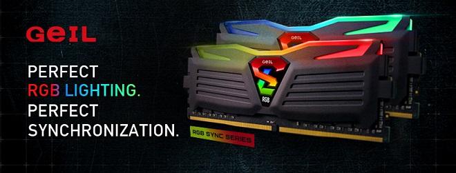 GeIL SUPER LUCE RGB 16GB DDR4 3200