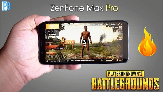 HP Asus ZenFone MAX PRO M1 Untuk Main PUBG Mobile