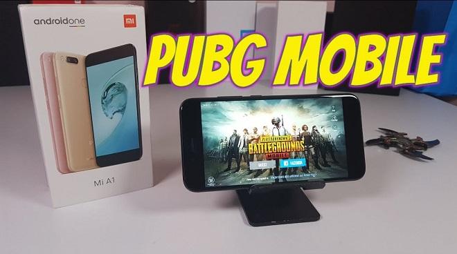 HP Xiaomi Mi A1 Untuk Main PUBG Mobile