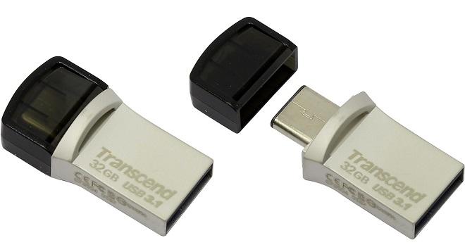 Harga Flashdisk OTG Transcend JetFlash 890