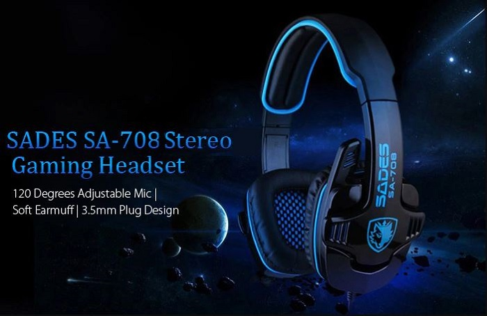 Harga Jual Headset Gaming SADES G-POWER SA-708