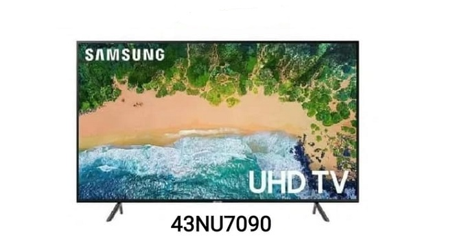 Harga SAMSUNG Smart LED TV 43 Inch 4K UHD 43NU7090 (2018)