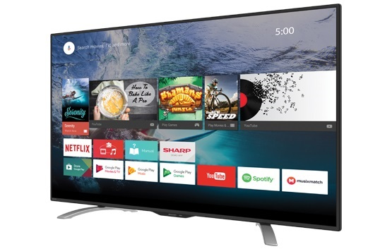Harga SHARP Smart LED TV 50 Inch 4K UHD LC-50UE630X