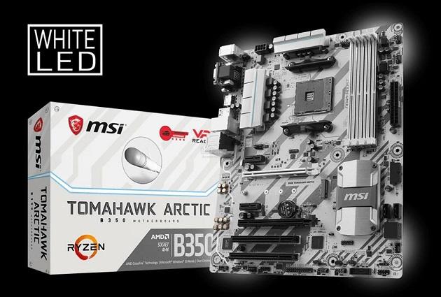 Harga Sepsifikasi Motherboard Gaming Terbaik MSI B350M Mortar Arctic