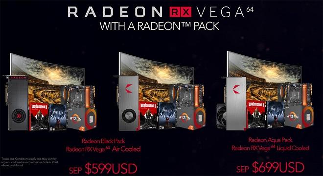 Harga VGA AMD Radeon RX Vega 64 dan RX Vega 56 di Indonesia
