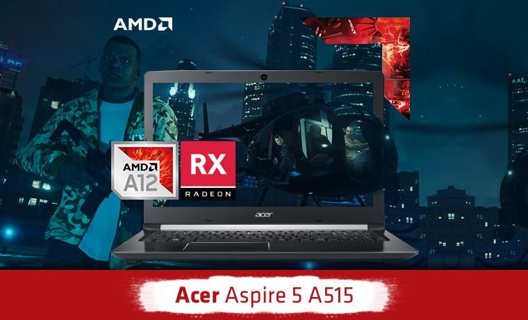 Harga dan Spesifikasi Laptop Gaming ACER ASPIRE 5 A12