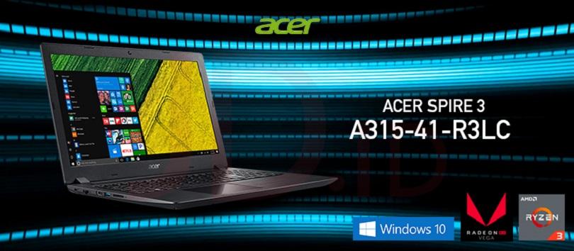 Harga dan Spesifikasi Laptop Gaming ACER Aspire 3 A315-41-R3LC AMD Ryzen 3