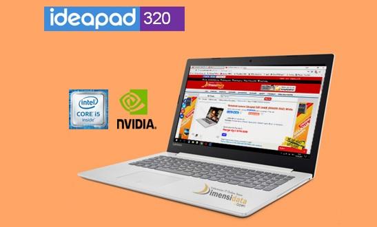 Harga dan Spesifikasi Laptop Lenovo IdeaPad 320 i5 Terbaru 2018