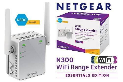 Harga dan Spesifikasi Netgear EX2700-100UKS Wireless Range Extender
