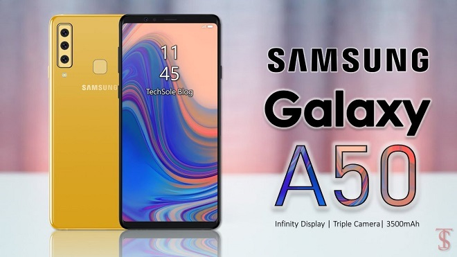 Harga dan Spesifikasi Samsung Galaxy A50 2019