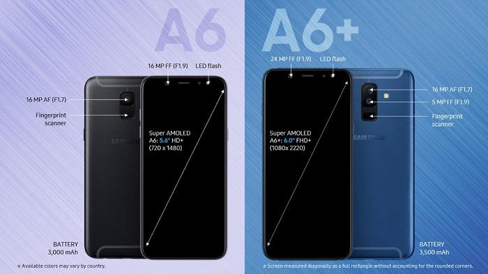 Harga dan Spesifikasi Samsung Galaxy J6+ Plus (2018) Indonesia