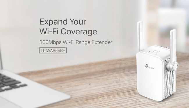Harga dan Spesifikasi TP-LINK TL-WA855RE Wireless WiFi Range Extender