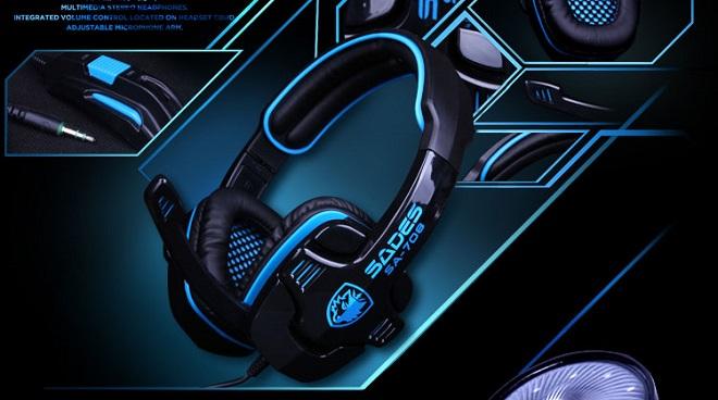 Headset Gaming Terbaik Harga Murah SA-708 Sades