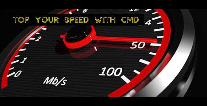 Cara mempercepat koneksi internet pc dan laptop dengan cmd