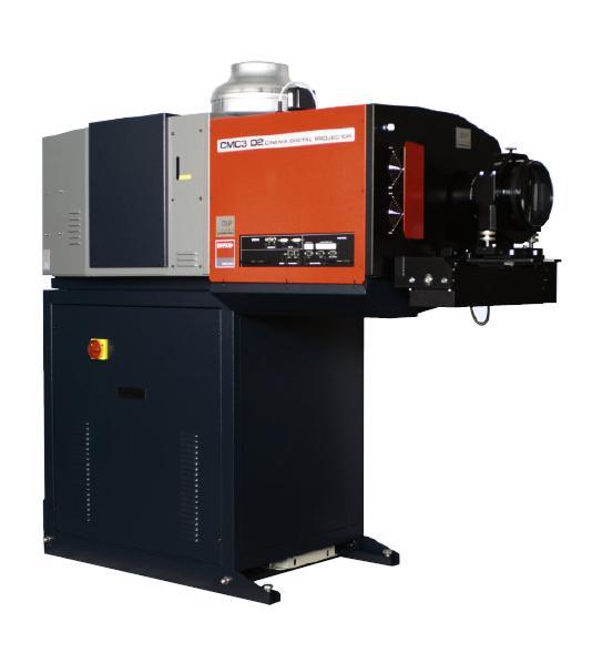 Jenis Proyektor yang Digunakan Pada Bioskop Cinemeccanica CMC3 D2
