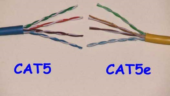 Kabel UTP Cat5 dan Cat5e