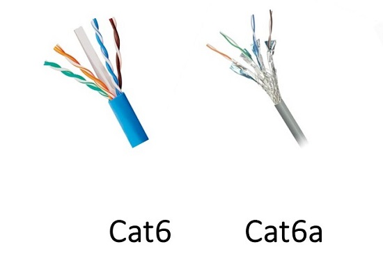 Kabel UTP Cat6 dan Cat6e