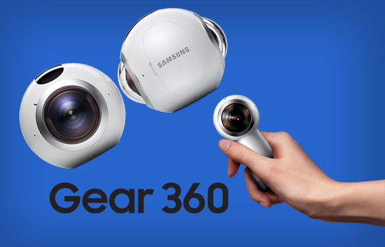 Kamera 360 derajat Samsung Gear 360