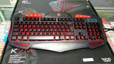 Keyboard Gaming Mechanical Rexus K7M LED Harga Murah