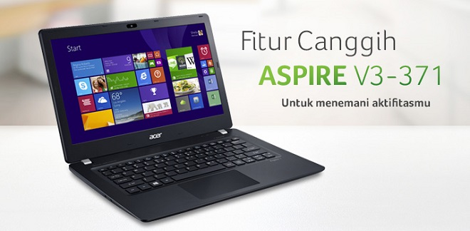 Laptop Acer Intel Core i5 Terbaik ACER ASPIRE V3-371 (i5-4210U)