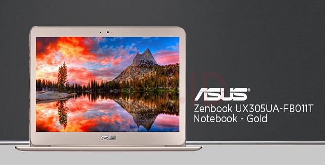 Laptop Desain Grafis Asus ZenBook UX305UA-FB011T Harga Terbaru