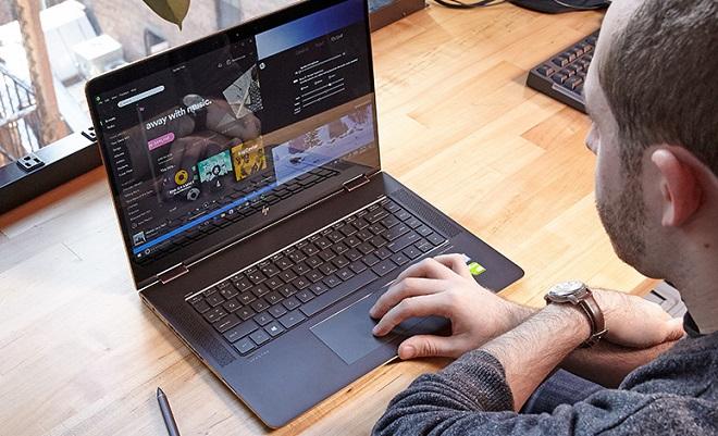 Laptop Gaming Dengan Resolusi 4K HP Spectre x360 15