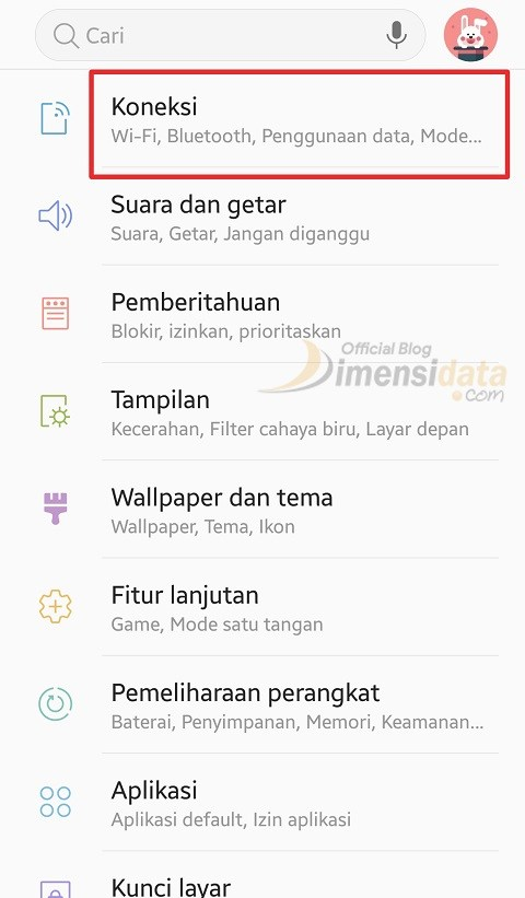 Mengkoneksikan Mobile Internet via Bluetooth 1
