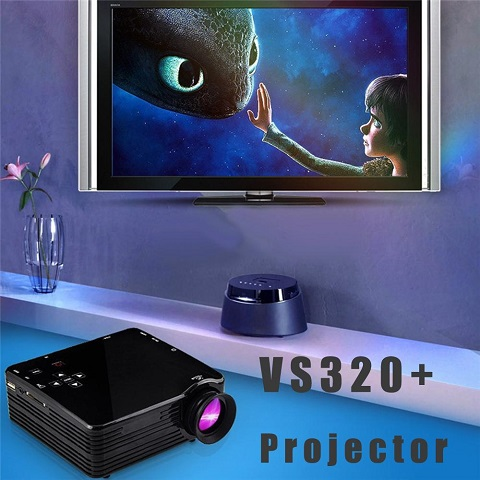 Mini Proyektor Terbaik Harga Murah LEd VS320+