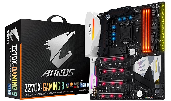 Motherboard Gaming Terbaik Gigabyte Aorus Z270X-Gaming 9