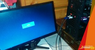 PC CPU Hidup Tapi Layar Monitor Mati No Signal Tidak Menyala