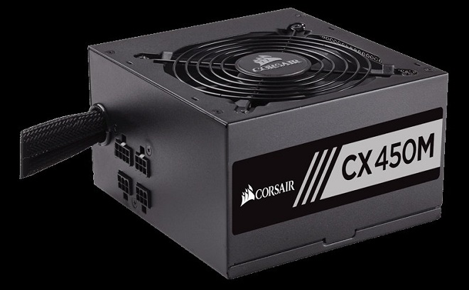 PC Gaming Power Supply 80+ Terbaik Corsair CX 450M