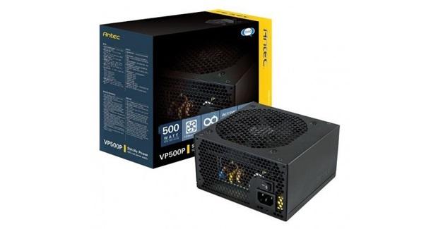 PSU Gaming 80+ Terbaik Antec VP500P V2