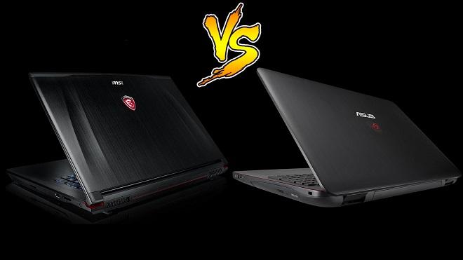 Perbandingan Laptop Gaming MSI vs Asus ROG