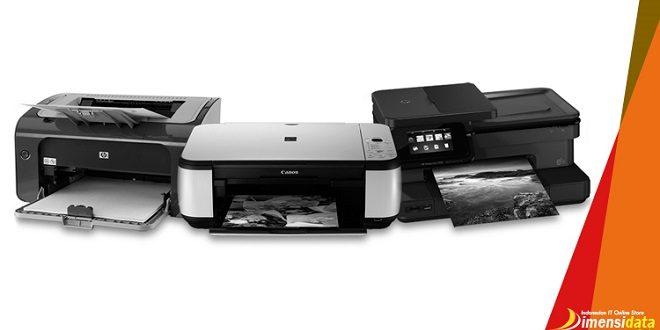 Perbedaan Printer Dot Matrix, Inkjet, dan Laserjet serta Kelebiahannya