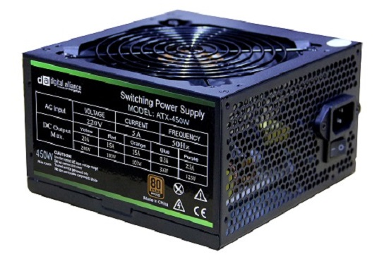 Power Supply Digital Alliance 450W 80+ Bronze